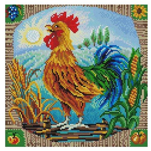 Мозаичная картина Петушок