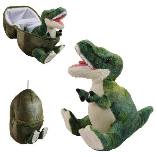 Мягкая игрушка ABtoys Dino World Динозавр в яйце зеленый, 22 см ABtoys   фото