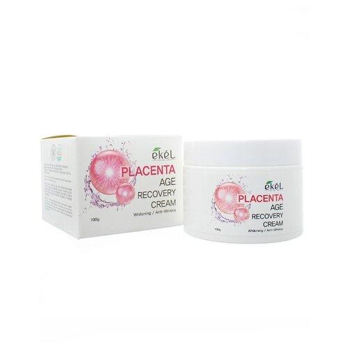 Ekel Age Recovery Cream Placenta Крем для лица с фитоплацентой 100 гр