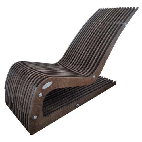 шезлонг складной деревянный смолянка см002б Шезлонг деревянный SEDEO Cubare темный