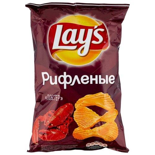 Чипсы Lay's картофельные Лобстер рифленые, 150 г