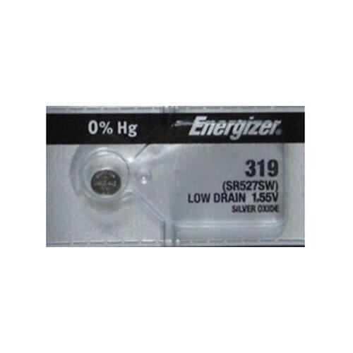 Фото - Батарейка Energizer Silver Oxide 319 (1 штука) батарейка energizer max plus aa 4 шт