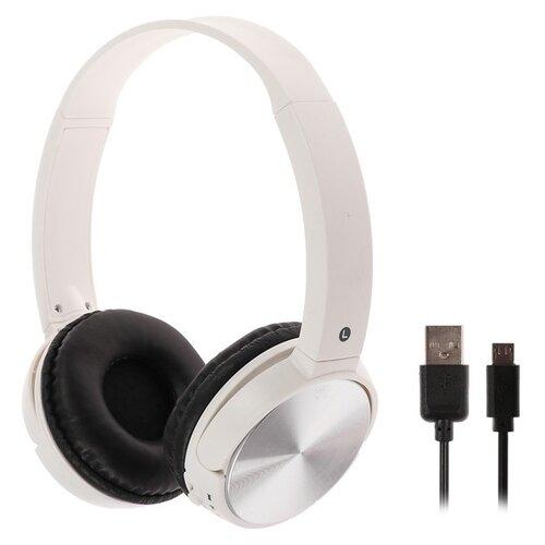 Купить Беспроводные наушники Luazon OBT-1.3 white