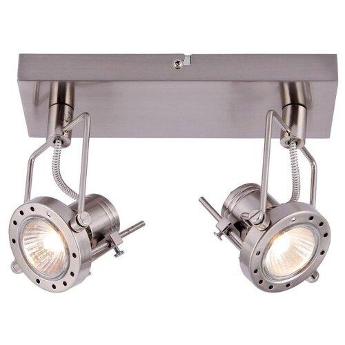 Спот Arte Lamp Costruttore A4300AP-2SS vaseky 16 2400