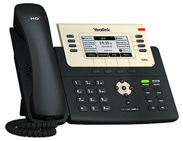 VoIP-телефон Yealink SIP-T27G