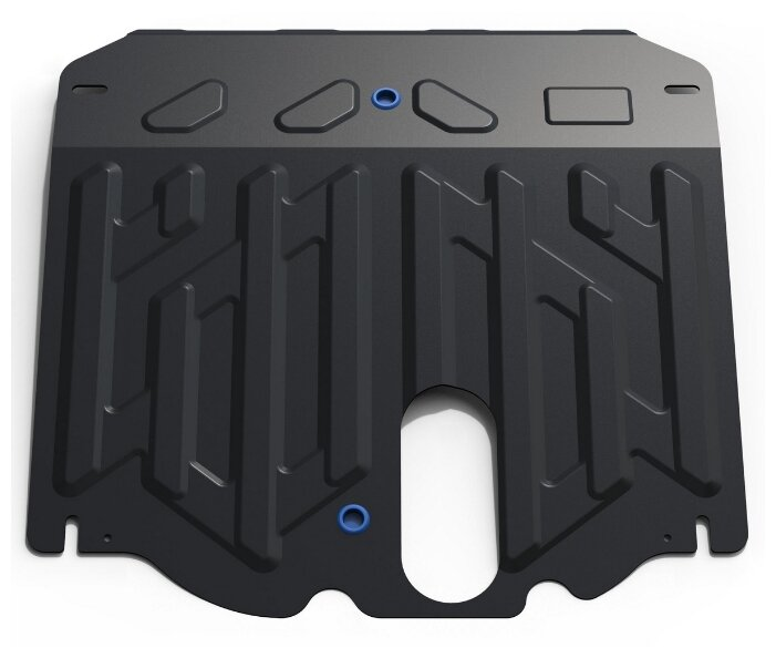 Защита картера двигателя и коробки передач RIVAL 111.2823.1 для Kia