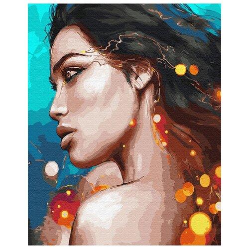 Купить Картина по номерам ВанГогВоМне ZX 23070 Пронзительный взгляд 40х50 см, Картины по номерам и контурам