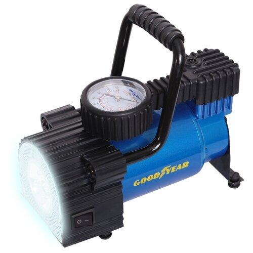 Автомобильный компрессор GOODYEAR GY-35L LED черный/синий