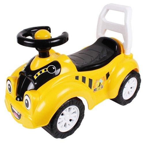 Фото - Каталка-толокар ТехноК Автомобиль для прогулок (7198) желтый каталки технок автомобиль для прогулок т6665
