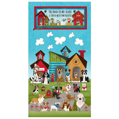 Купить Ткань для пэчворка Peppy PANEL , 60х110 см, арт. 4705/18 PANEL (принт: 126), Ткани