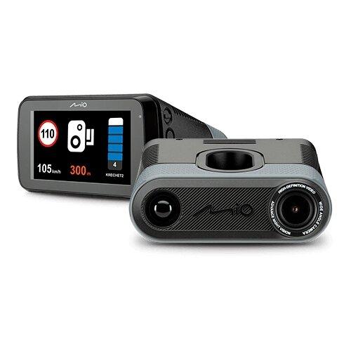 Фото - Видеорегистратор с радар-детектором Mio MiVue i90, GPS, черный видеорегистратор mio mivue 788