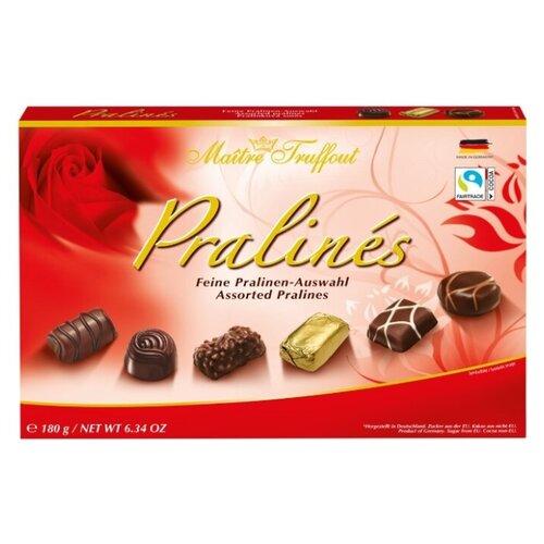 Шоколадные конфеты Ассорти пралине, 180 г недорого