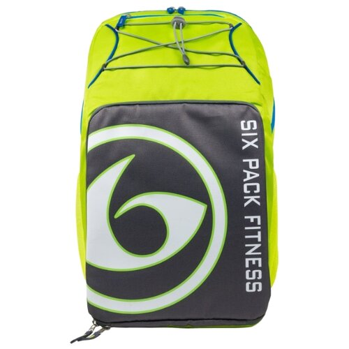 Six Pack Fitness Рюкзак Pursuit Backpack 500 зеленый/серый/голубой 38 л