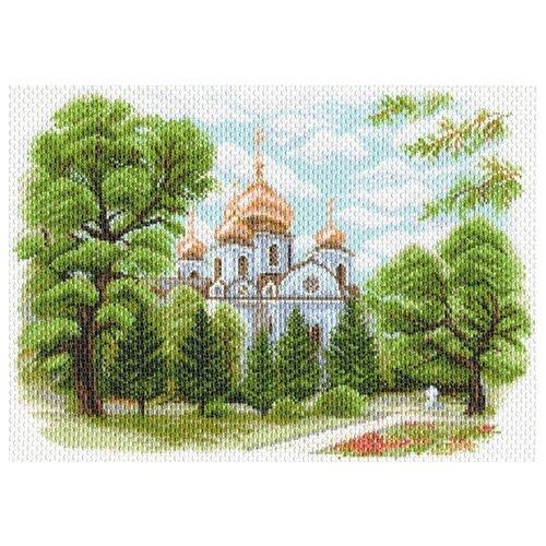Собор Александра Невского в Краснодаре Рисунок на канве 37/49 37х49 (28х40) Матренин Посад 1638