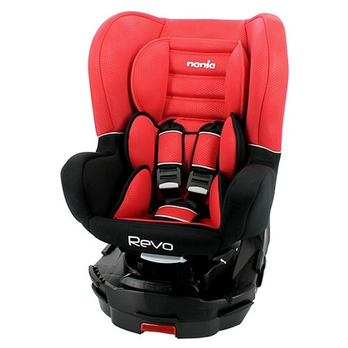 цена на Автокресло группа 0/1/2 (до 25 кг) Nania Revo Luxe Isofix, red