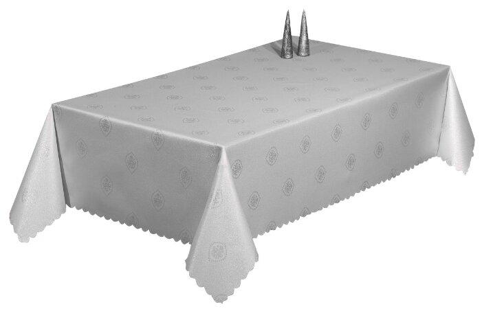 Скатерть Arya Snowshine TRK111300020782 150х220 см серебро
