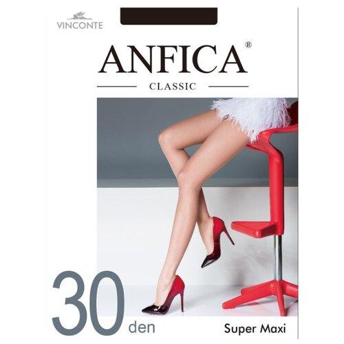 Колготки Anfica Classic Super Maxi 30 den, размер 5XL, nero (черный) колготки anfica classic 30 den