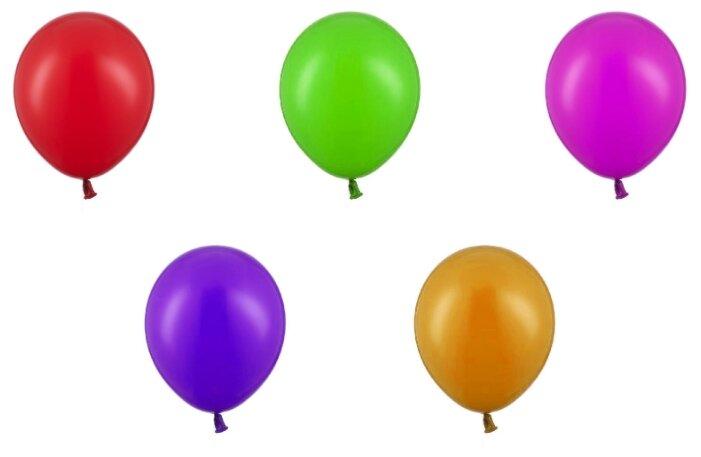 Набор воздушных шаров Belbal Пастель ассорти Экстра (50 шт.)