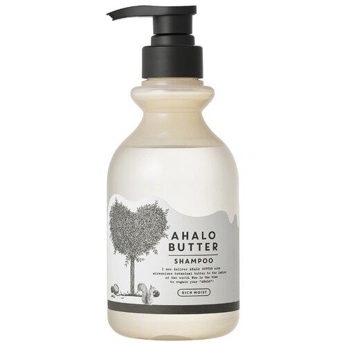 Купить Ahalo Butter AHALO BUTTER Shampoo Rich Moist Увлажняющий пенный шампунь с тропическими маслами и кленовым сиропом, 500 мл