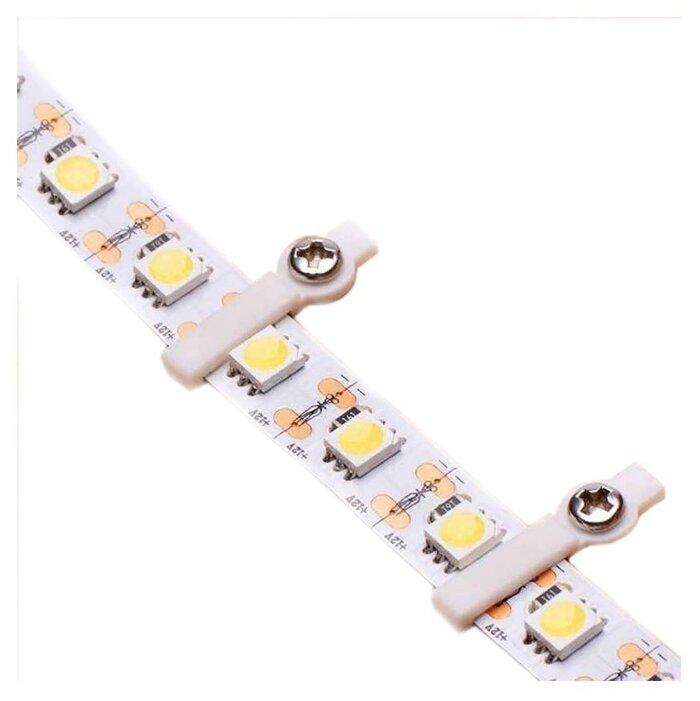 Аксессуары для ленты 12 В и 24 В Neon-Night Монтажная клипса для светодиодной ленты шириной 10 мм Neon-Night, 50шт. в упаковке, арт. 144-098