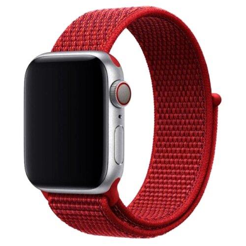 Фото - Devia Ремешок Series Sport 3 для Apple Watch 38/40mm красный ремешок devia elegant series milanese loop для apple watch 4 44mm silver