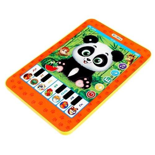Купить Планшет Zabiaka Мой питомец панда (4307971) красный, Детские компьютеры