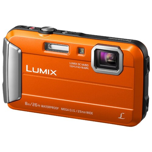 Фото - Фотоаппарат Panasonic Lumix DMC-FT30 оранжевый фотоаппарат