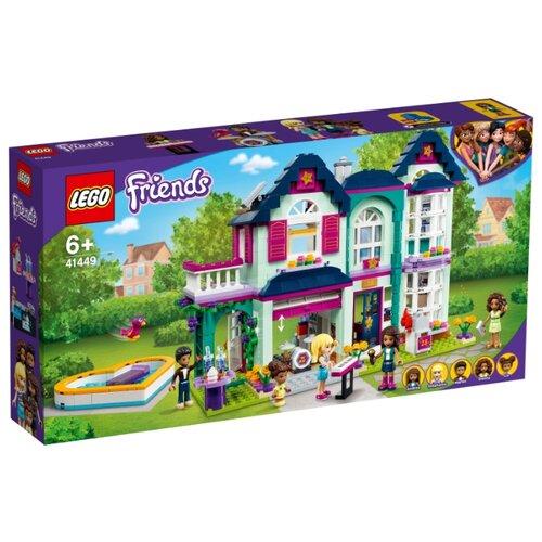 Конструктор LEGO Friends 41449 Дом семьи Андреа конструктор lego friends 41398 дом стефани