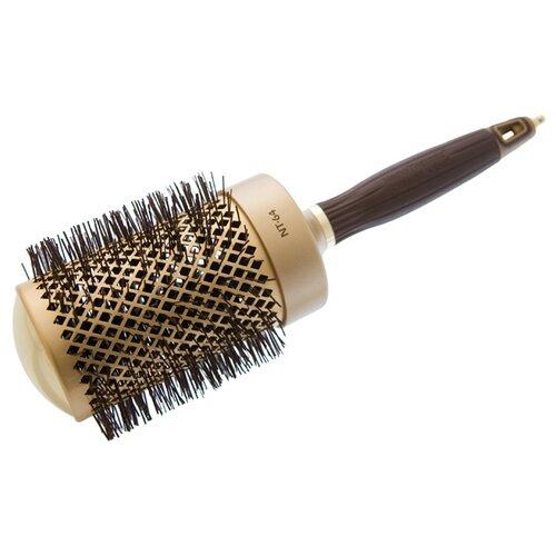 Термобрашинг для укладки волос керамический + ион NanoThermic 64мм недорого