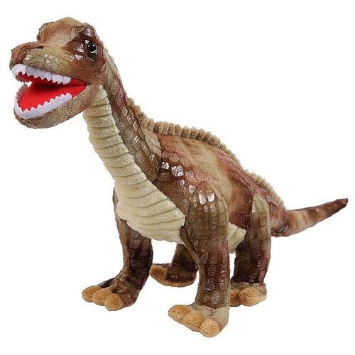 Мягкая игрушка Dino World. Динозавр Бронозавр, 54 см ABtoys   фото