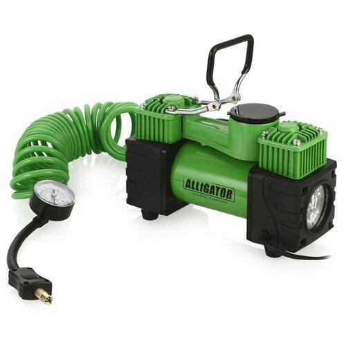 Автомобильный компрессор Alligator AL-500 зеленый
