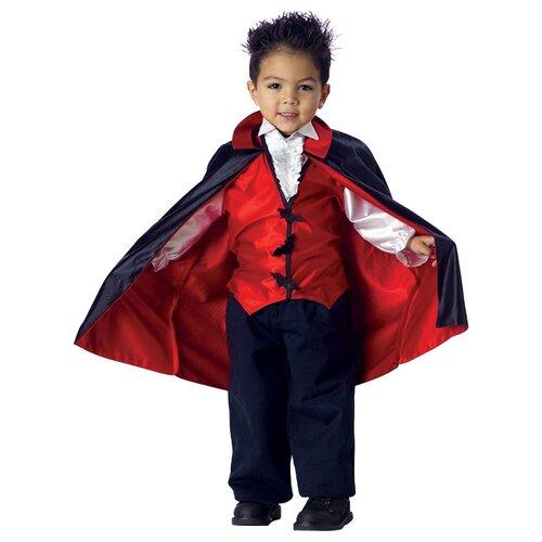Костюм California Costumes Вампирчик 00008, черный/красный, размер L (4-6 лет) костюм snowmen человек огонь е94758 красный черный размер 4 6 лет