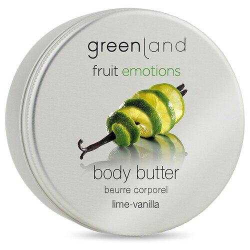 Крем для тела Greenland Лайм-ваниль, 120 мл набор нежный уход greenland
