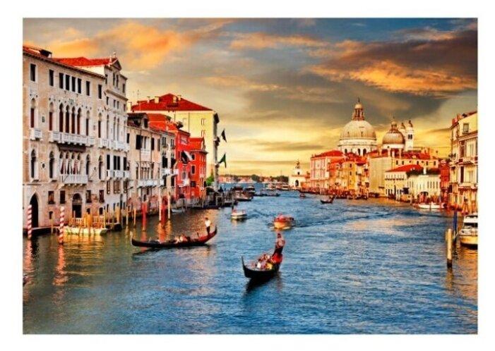 """Купить Картина на холсте 57x40 см """"Венеция"""", ПринтДекор, PR-PH-218 по низкой цене с доставкой из Яндекс.Маркета"""