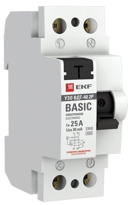 УЗО EKF 30мА тип AC ВДТ-40 2 полюса