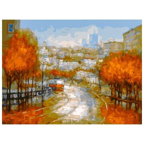 Белоснежка Картина по номерам Осенняя симфония 30х40 см (348-AS) белоснежка картина по номерам отражения солнца 30х40 см 264 as
