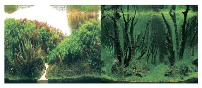 Пленочный фон Prime Растительные холмы/Коряги с растениями