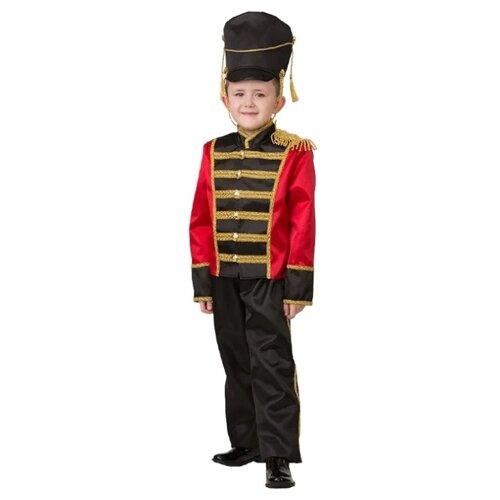 Купить Костюм Батик Гусар (8050), черный/красный, размер 152, Карнавальные костюмы
