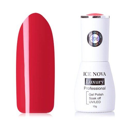 Купить Гель-лак для ногтей ICE NOVA Luxury Professional, 10 мл, 206
