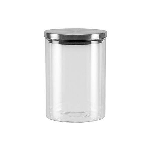 Фото - Nadoba банка для сыпучих продуктов Silvana 0.7 л прозрачный/серый банка для сыпучих продуктов nadoba 741111