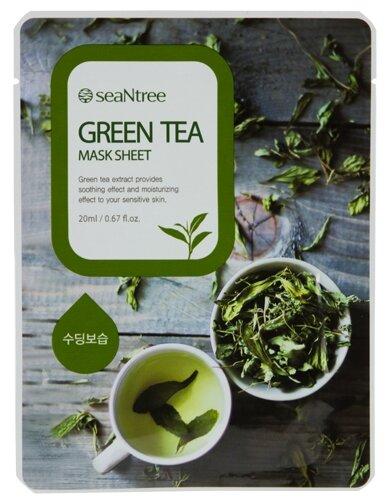 SeaNtree тканевая маска Green Tea