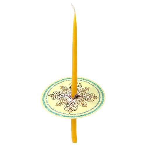 Манжета для свечи Манжета для свечи, цвет: желтый