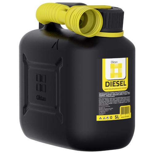Канистра OKTAN Diesel 05.01.01.00-4, 5 л канистра пластиковая oktan profi для гсм 20 л
