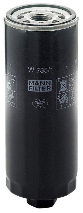 Масляный фильтр MANNFILTER W735/1