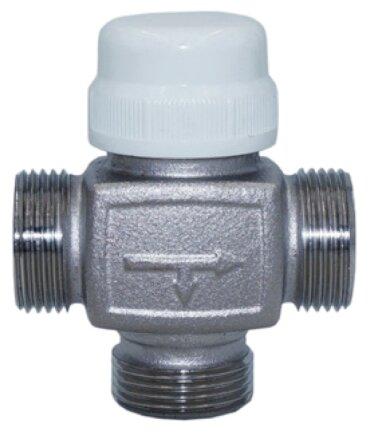 Трехходовой смесительный клапан термостатический Tim BL7661X04 муфтовый (НР), Ду 25 (1