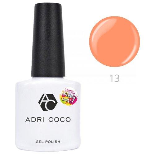 Гель-лак для ногтей ADRICOCO Pretty dolly, 8 мл, оттенок 13 неоновый персиковый