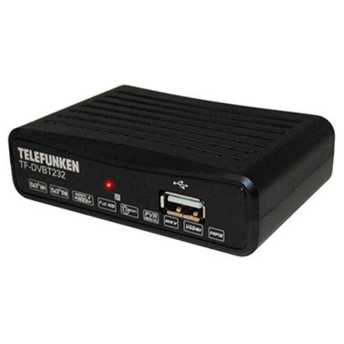 TELEFUNKEN Плееры Медиа TF-DVBT232(черный)