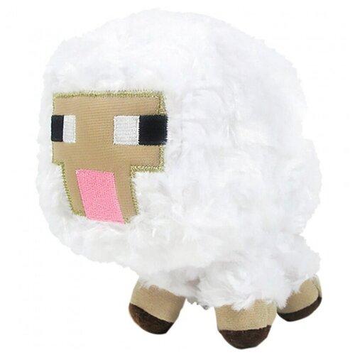 Мягкая игрушка овечка из майнкрафт 15 см