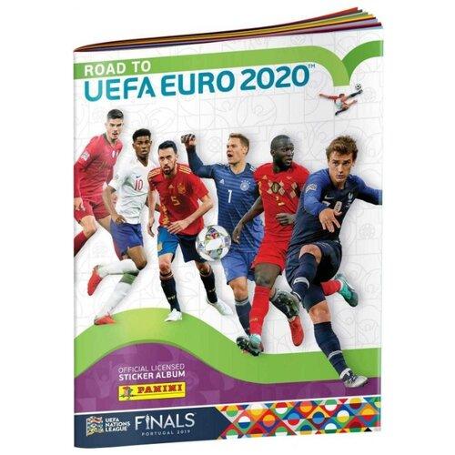 Купить Альбом для наклеек Road to UEFA EURO 2020, Panini, Книжки с наклейками