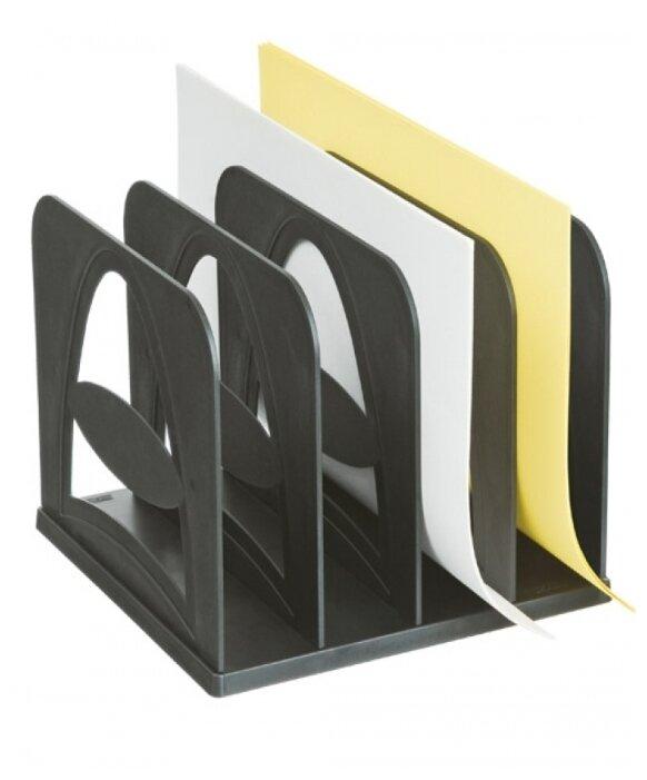 Лоток вертикальный для бумаги СТАММ СО02 (4 отд.)